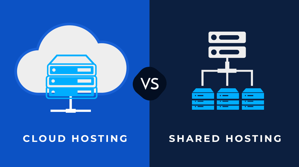 cloud vs shared hosting - bagaimana cara membuat blog wordpress