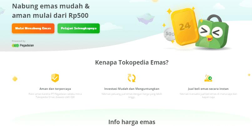 Kelebihan dan Kekurangan 3 Website Investasi Emas 2