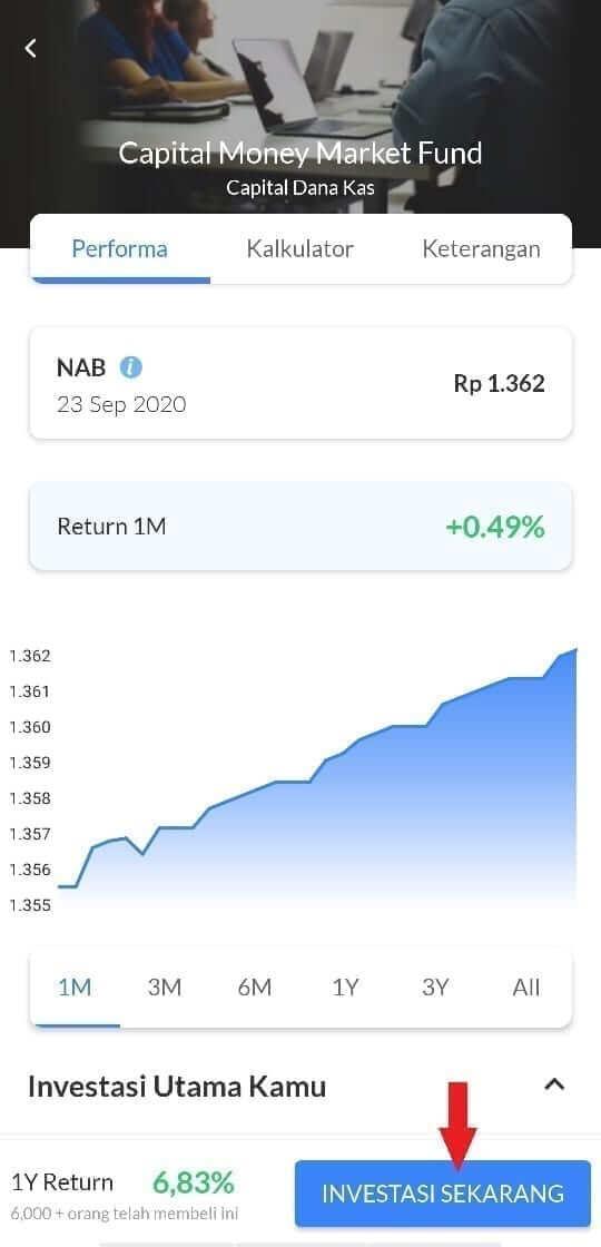 Cara beli reksadana pasar uang di Ajaib