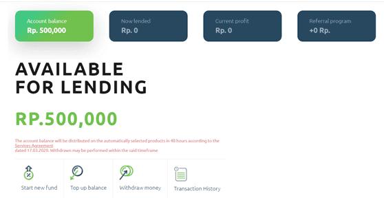 Cara Mendaftar dan Berinvestasi di P2P Lending Cashwagon 14