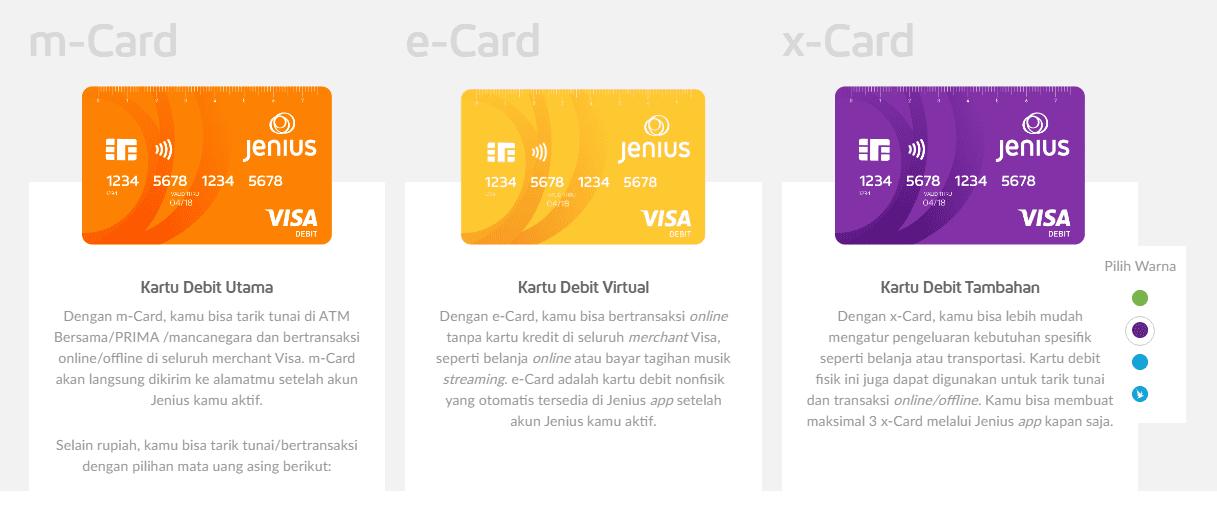 kartu tabungan jenius btpn