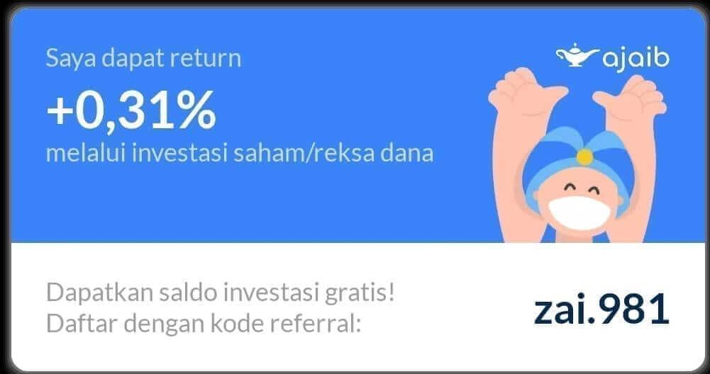 Review Ajaib – Investasi Reksadana dan Saham dalam Satu Aplikasi 1