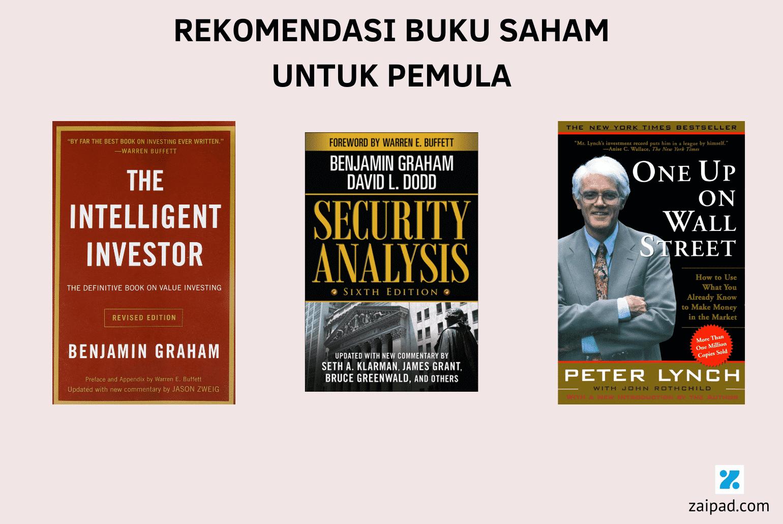 Rekomendasi Buku Saham untuk Pemula