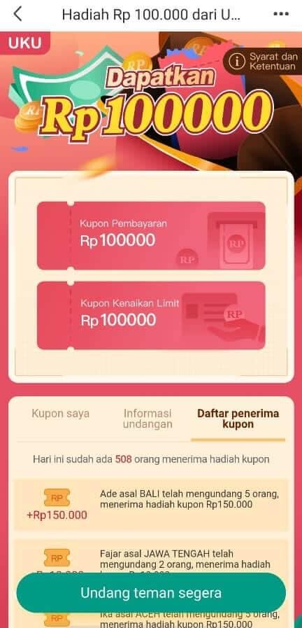 Referral pinjaman online UKU