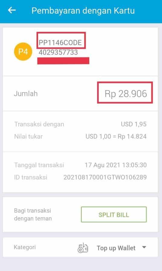 Cara verifikasi rekening Paypal dengan Jenius BTPN langkah 11