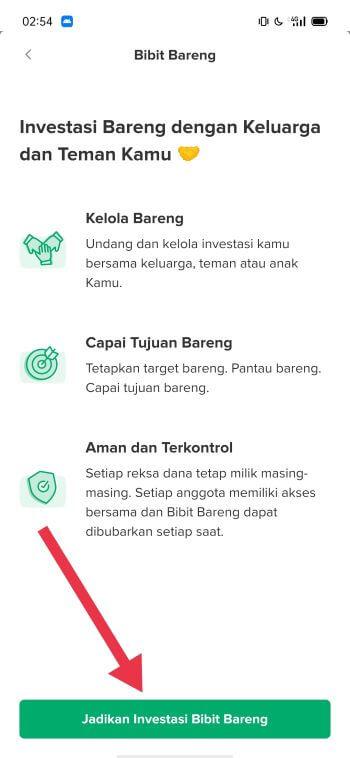 Konfirmasi Bibit Bareng